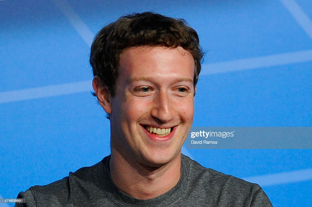 Mark Zuckerberg Attends Mobile World Congress : News Photo
