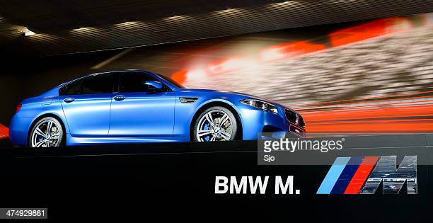 bmw m5 - bmw stock pictures, royalty-free photos & images