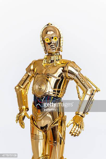 c-3po - star wars stock pictures, royalty-free photos & images