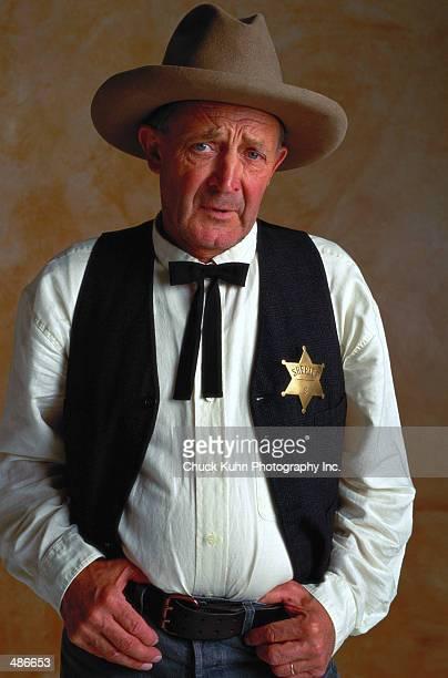 mature male sheriff - 保安官 ストックフォトと画像