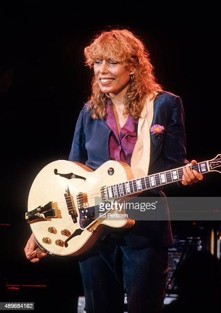 Joni Mitchell performs at the Civic Auditorium in San Francisco September 7 1979