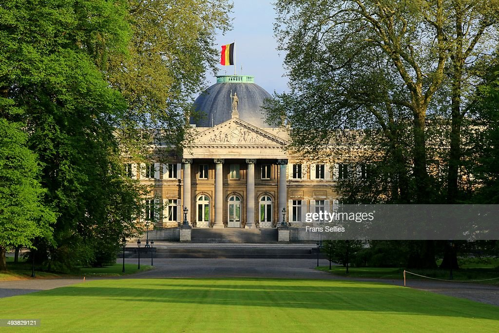 Royal palace of Laeken (Brussels) : News Photo