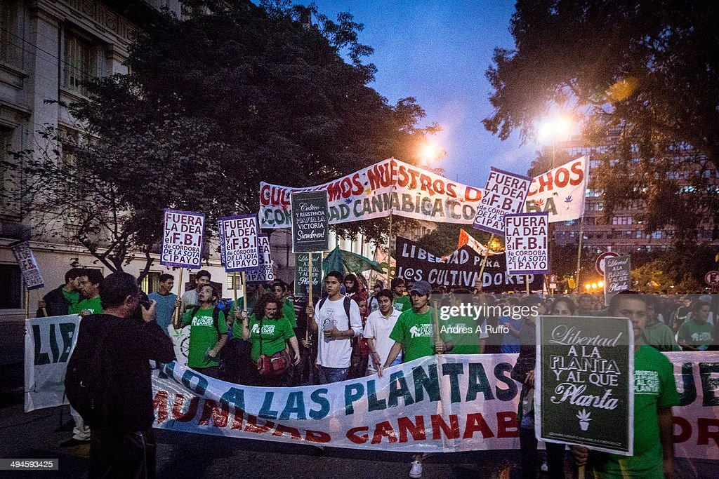 World March for marijuana - Editorial Use Only : News Photo