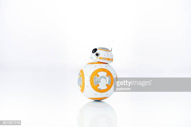bb-8 - star wars stock pictures, royalty-free photos & images