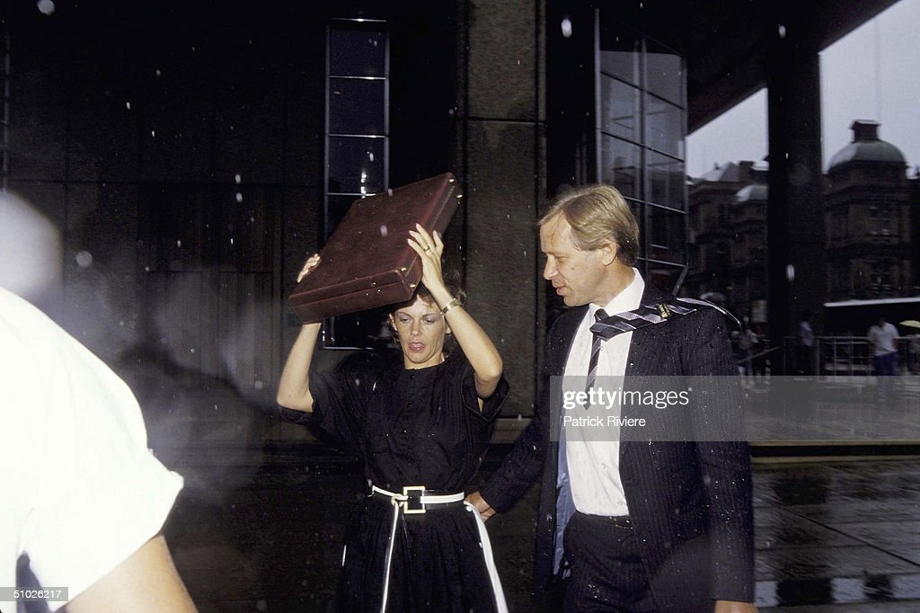 Lindy Chamberlain Arrives At Court In Sydney : News Photo