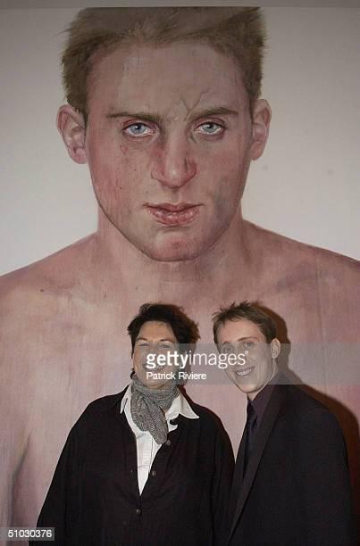 PIECE 'SIMON TEDESCHI UNPLUGGED' THE WINNER OF AT THE 2002 AUSTRALIAN ARCHIBALD ART PRIZE AWARDS IN SYDNEY