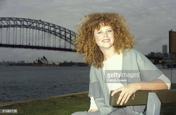 AUSTRALIAN ACTRESS NICOLE KIDMAN AT A PRIVATE PHOTO SESSION FOLLOWING THE RELEASE OF HER MOVIE 'BMX BANDIT' IN SYDNEY. .