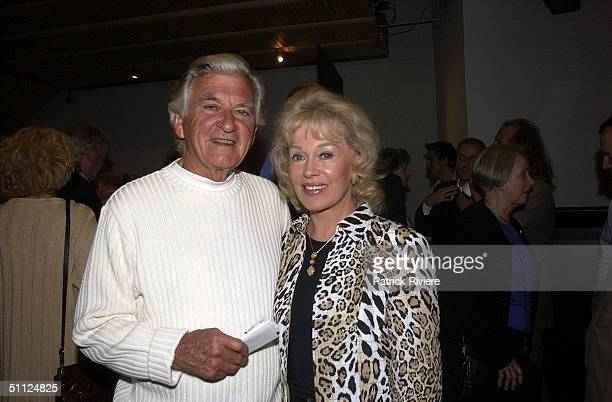 ALPUGET AT SYDNEY THEATRE COMPANY'S OPENING NIGHT OF INHERITANCE AT THE DRAMA THEATER IN SYDNEY OPERA HOUSE