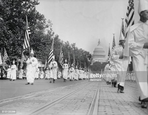 Ku Klux Klan Marching in Washington