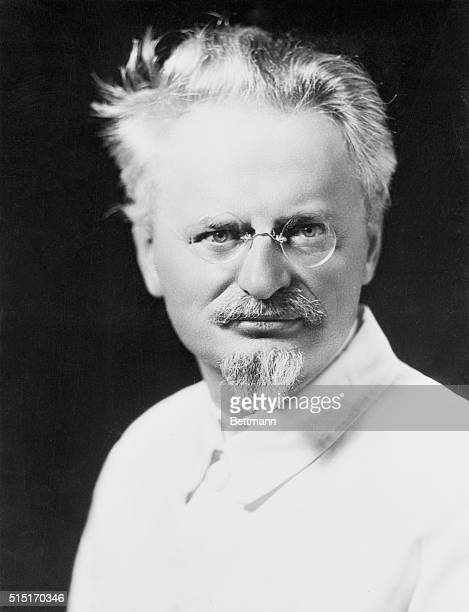 LEON TROTSKY THE SOVIET'S MOST FEARED POLITICAL EXILE FROM HIS MOST RECENT PICTURE MADE IN MEXICO FILED 8/26/37