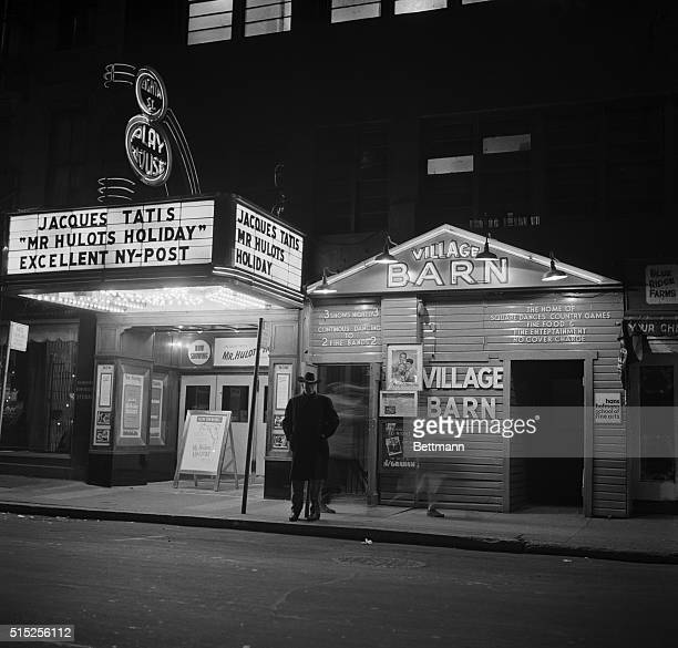 THE VILLAGE BARN IN GREENWICH VILLAGE 1955