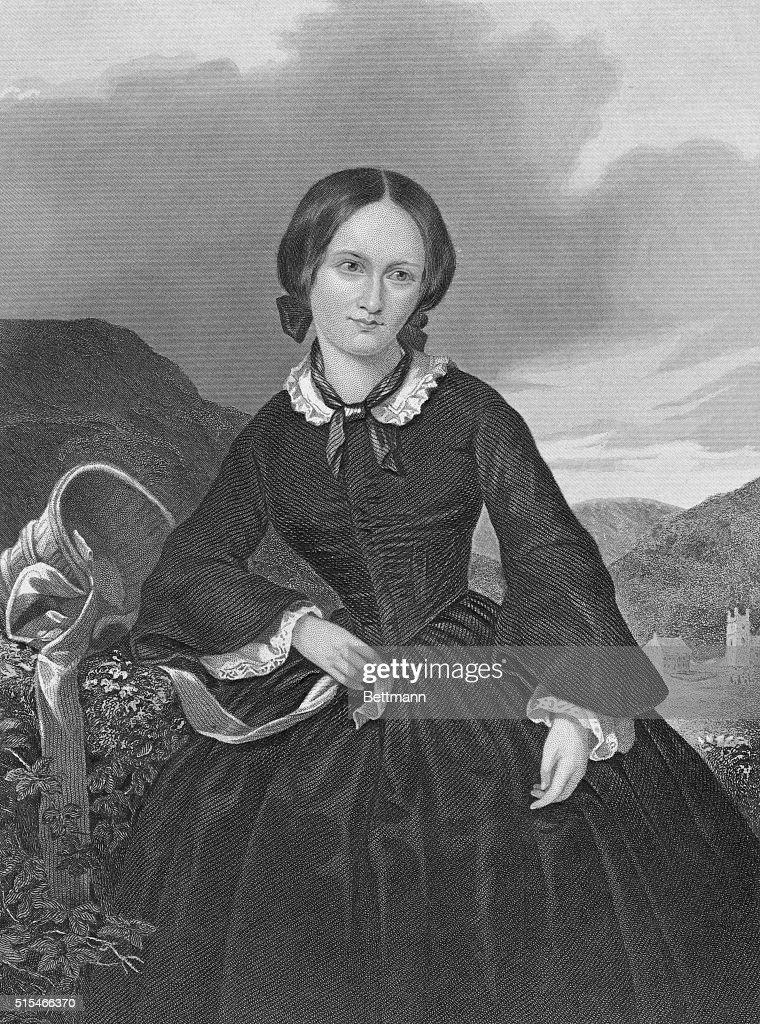 Portrait of Charlotte Bronte : News Photo