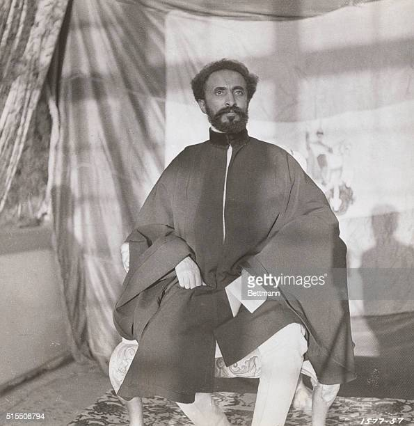 HAILE SELASSE EMPEROR OF ETHIOPIAUNDATED PHOTOGRAPH