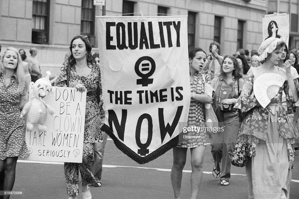 Women's Liberation Parade : News Photo