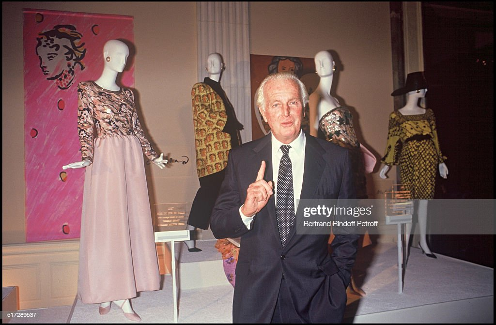FILE - French Fashion Designer Hubert de Givenchy Dies At 91