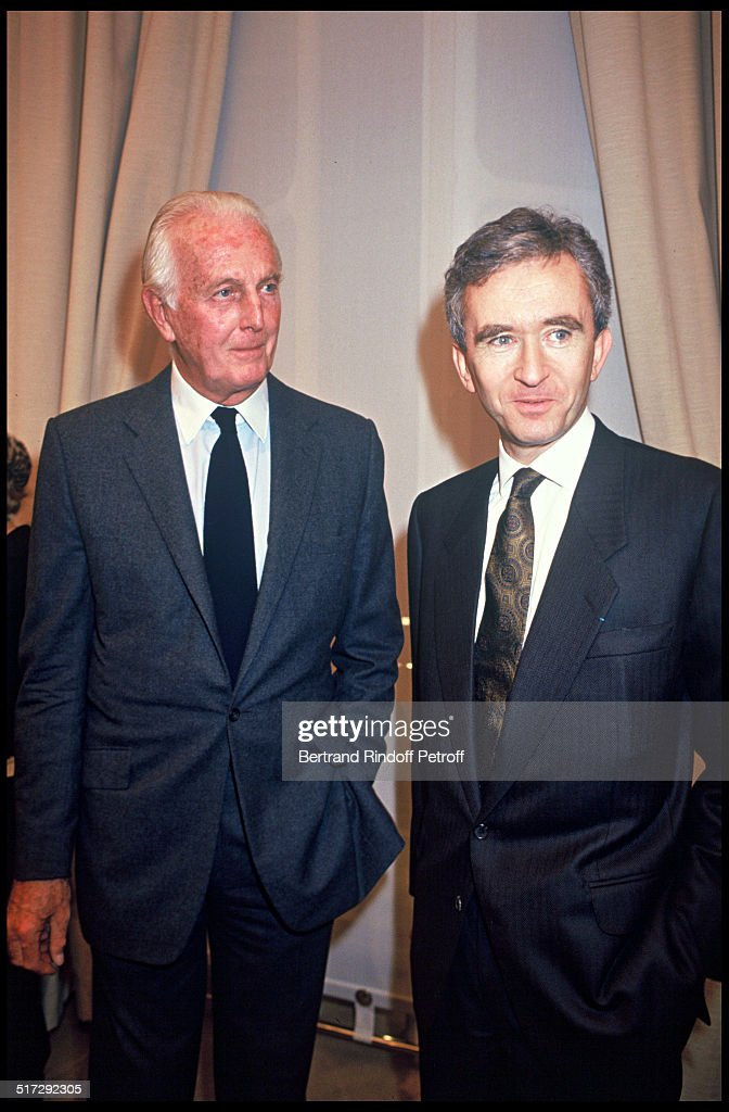 Inauguration Of A Givenchy Store in Paris - 1993 : News Photo