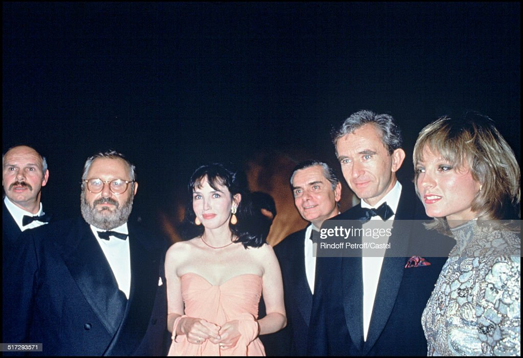 "Launching Party Of The ""Dune"" Fragrance By Christian Dior - 1991 : News Photo"