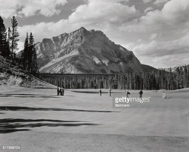 Second Hole of Banff Springs Hotel Golf Course