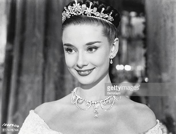 AUDREY HEPBURN ROMAN HOLIDAY 1953