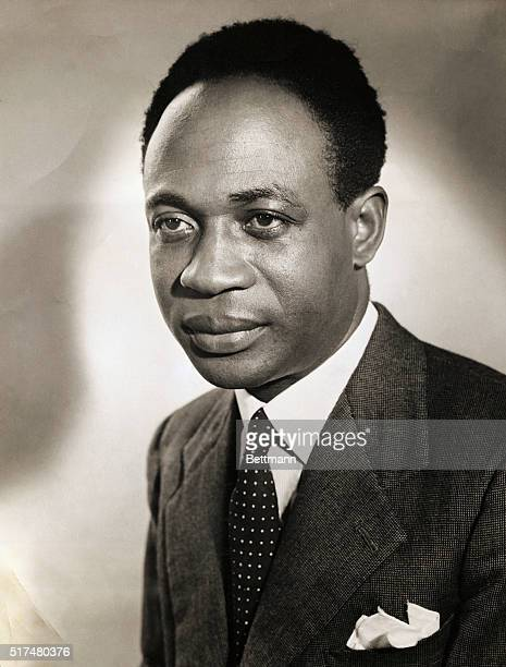 DR KWAME NKRUMAH PRIME MINISTER OF THE GOLD COASTUNDATED PHOTOGRAPH