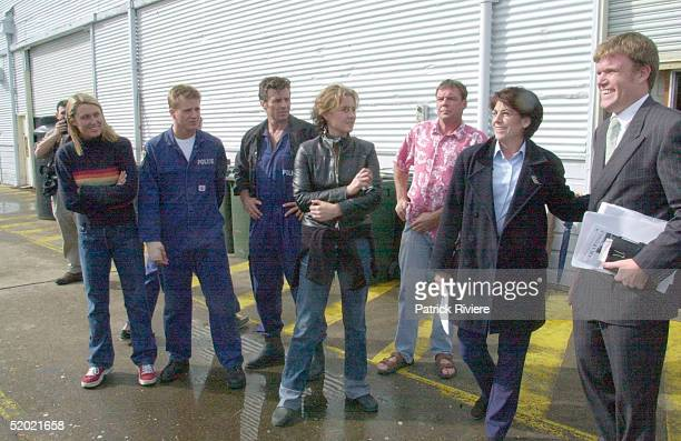 9 MAY 2000 ALISON CRATCHLEY DIARMID HEIDENREICH DEE SMART TONI SCANLAN THE MAIN CAST OF WATER RATS ON GOAT ISLAND CONCERNED ABOUT THE CHANGES TO THE...