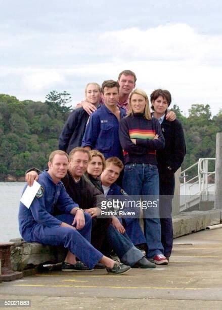 9 MAY 2000 DIARMID HEIDENREICH DEE SMART TONI SCANLAN ALISON CRATCHLEY STEVE BISLEY BRETT PARTRIDGE REBECCA SMART AND PETER BENSLEY THE MAIN CAST OF...