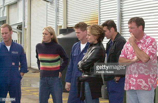 9 MAY 2000 BRETT PARTRIDGE ALISON CRATCHLEY DIARMID HEIDENREICH DEE SMART AND PETER BENSLEY THE MAIN CAST OF WATER RATS ON GOAT ISLAND CONCERNED...