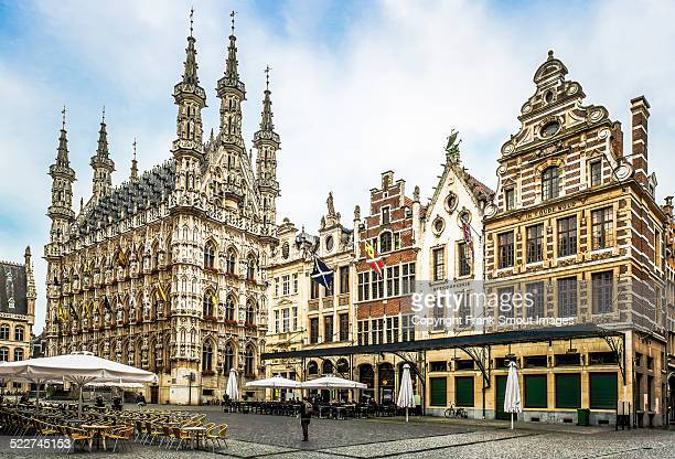 MAIN MARKET AND TOWN HALL OF LEUVEN