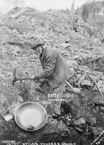 DADDY MINER OF ALLIN BCPHOTOGRAPH C1900