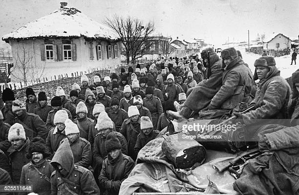 Romanian POWs from the Battle of Stalingrad November December 1942