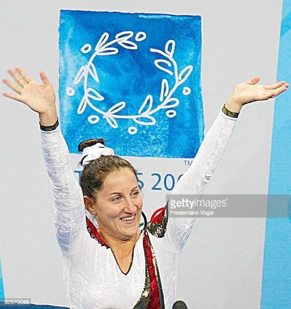 Trampolin Olympische Spiele Athen 2004 Athen Frauen Anna DOGONADZE / GER Gold 200804