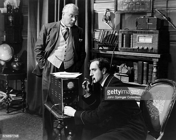 FILM SHERLOCK HOLMES AND THE VOICE OF TERROR UNDATED MOVIE STILL
