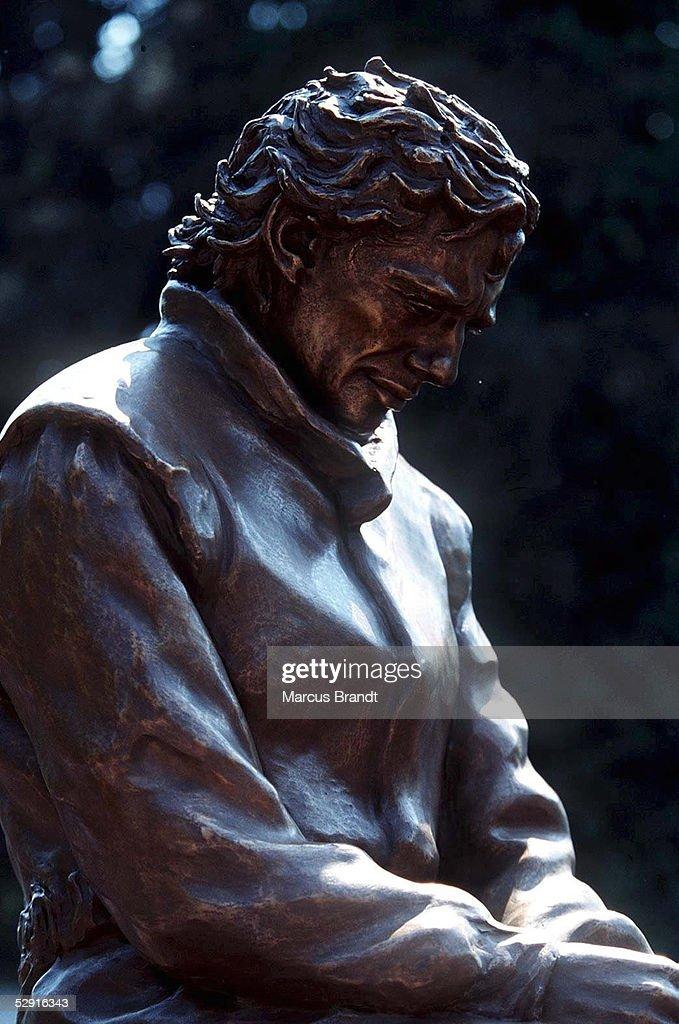 GP von SAN MARINO 1997 Imola, AYRTON - SENNA - DENKMAL