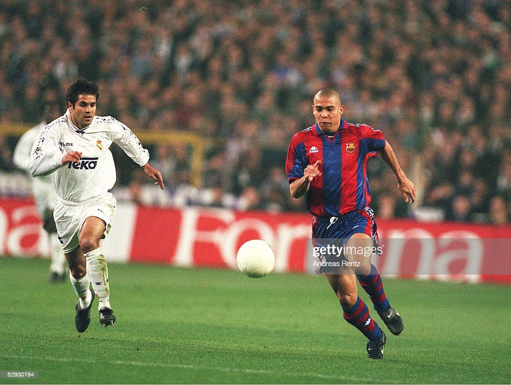 FUSSBALL: SPANISCHER POKAL 96/97 REAL MADRID : News Photo
