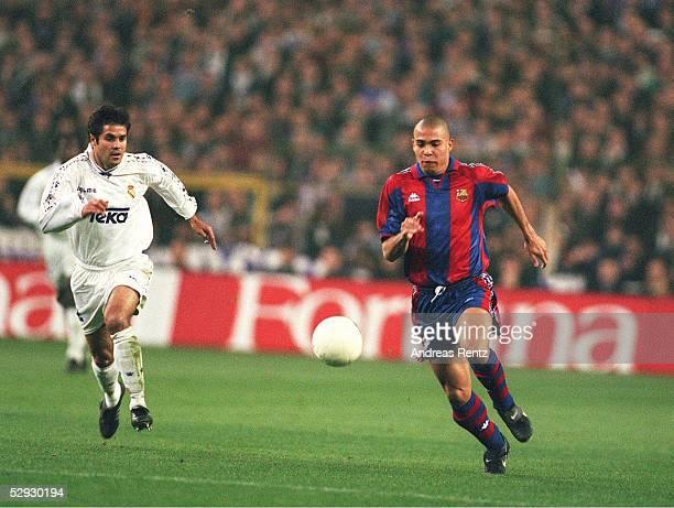 SPANISCHER POKAL 96/97 REAL MADRID - FC BARCELONA 1:1; RONALDO/BARCELONA
