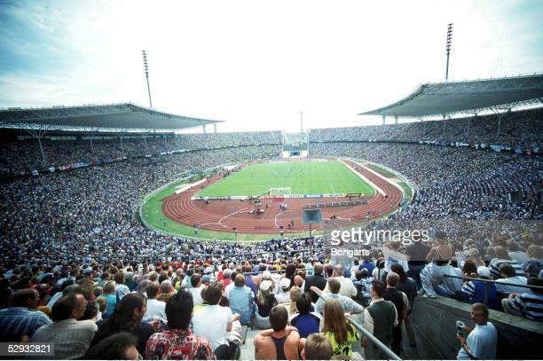 FUSSBALL: FUSSBALLSTADION/SPORTSTAETTEN/STADION 03.08.97, OLYMPIASTADION BERLIN