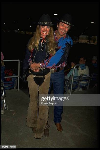 STARS TAKING PART IN A RODEO IN LOS ANGELES
