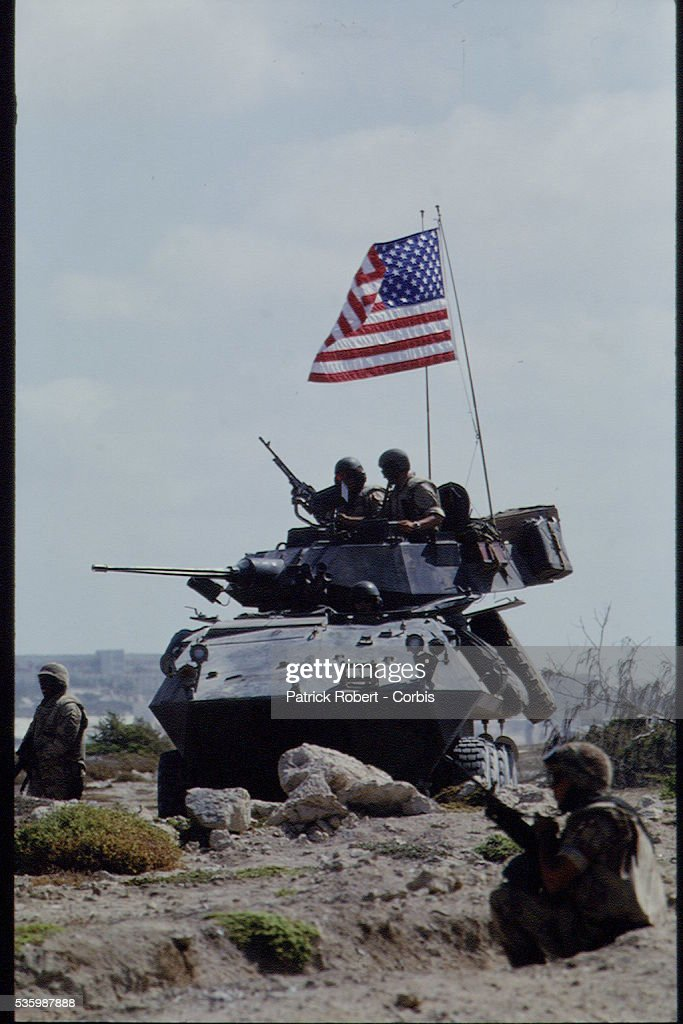 AMERICAN TROOPS WITHDRAW FROM SOMALIA