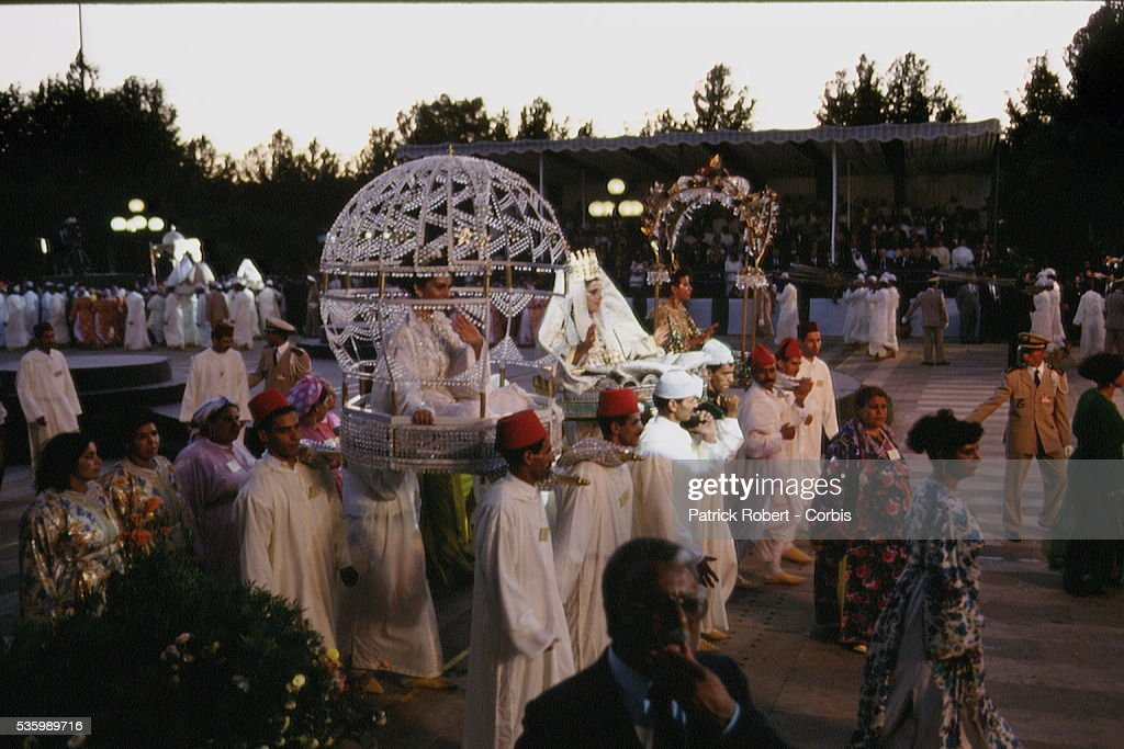 MARRIAGE OF PRINCESS LALLA HASNAA IN FES