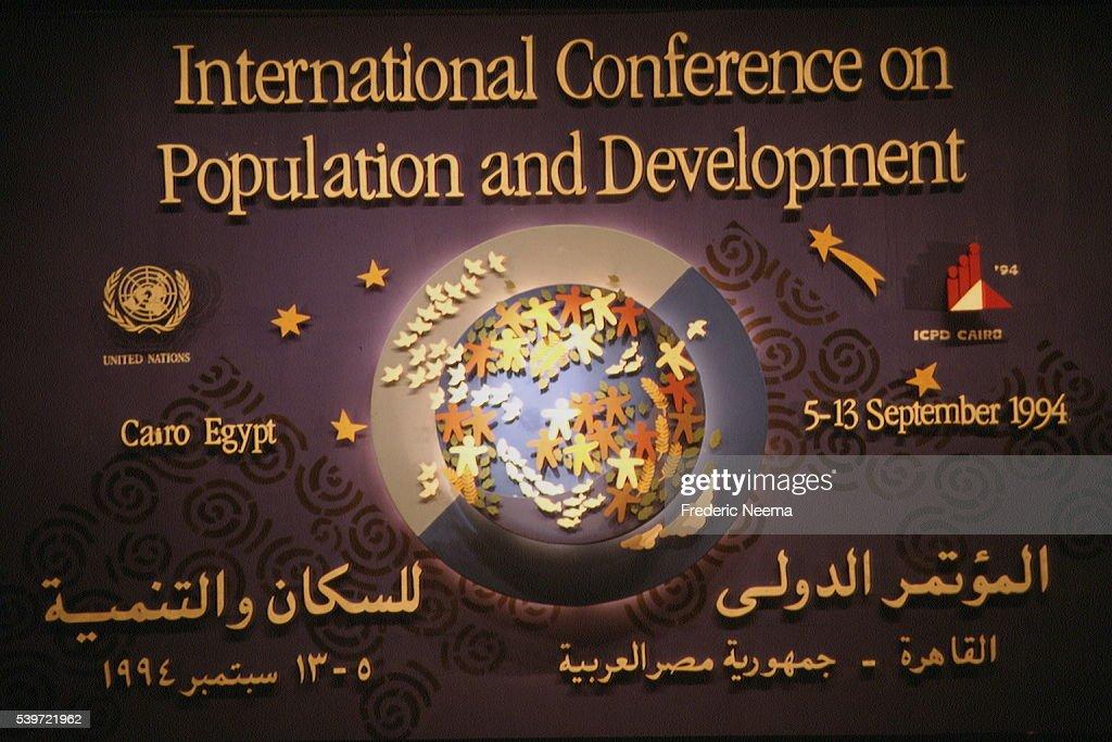 INTERNATIONAL POPULATION CONFERENCE : News Photo