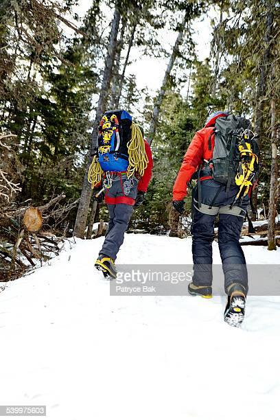 ACADIA PARK ICE CLIMBERS HIT THE TRAIL
