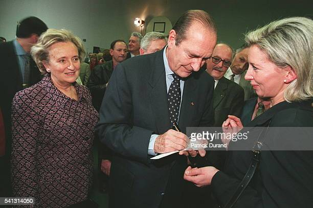 OFFICIAL VISIT OF JACQUES CHIRAC TO CORREZE