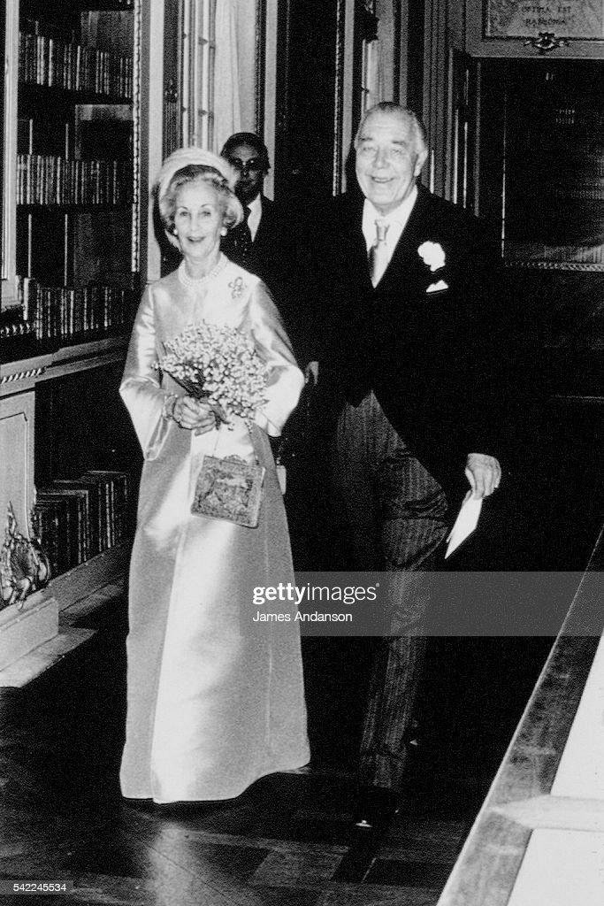 WEDDING OF PRINCE BERTIL OF SWEDEN : News Photo