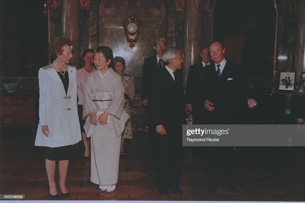 JAPANESE ROYALTY VISIT LUXEMBOURG : News Photo