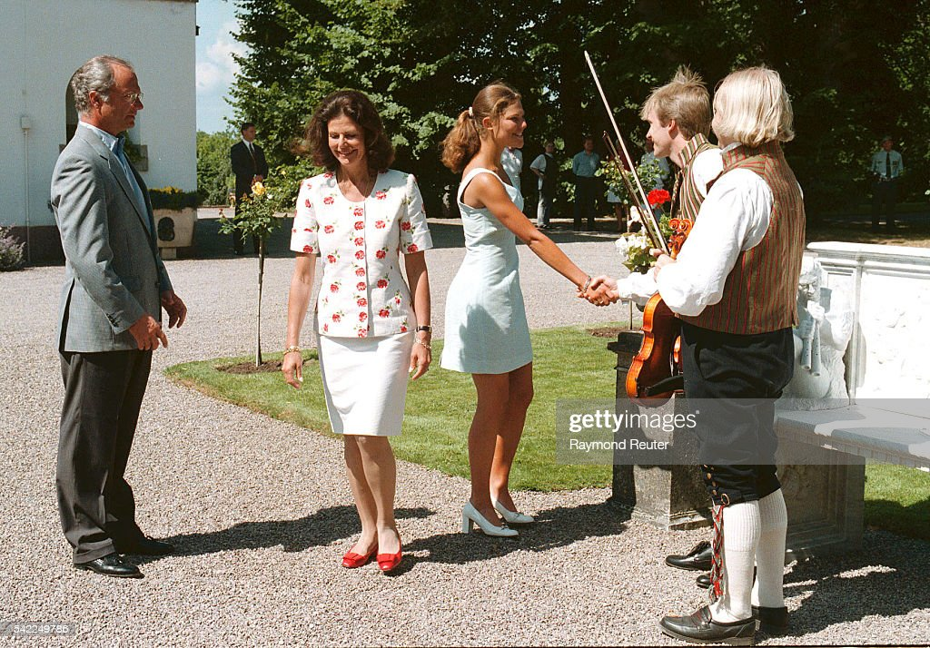 20TH BIRTHDAY OF VICTORIA OF SWEDEN : News Photo