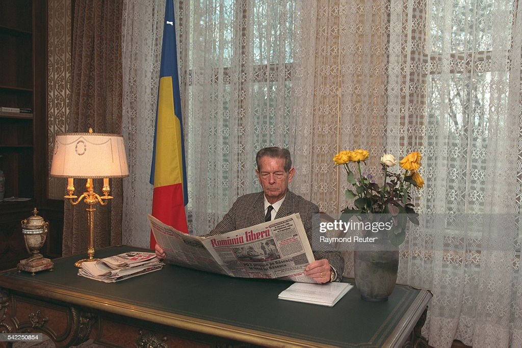 EXCLUSIVE, ROYAL FAMILY OF ROMANIA IN BUCHAREST : News Photo