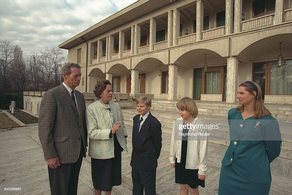 EXCLUSIVE, ROYAL FAMILY OF ROMANIA IN BUCHAREST