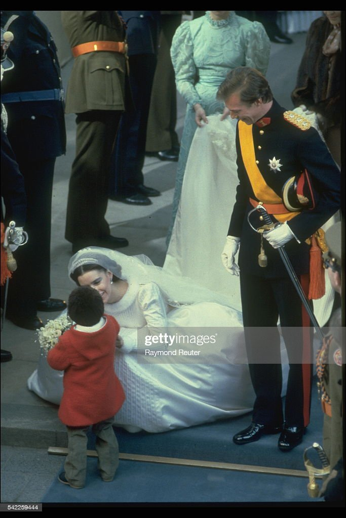 WEDDING OF HENRI OF LUXEMBOURG AND MARIA TERESA : News Photo