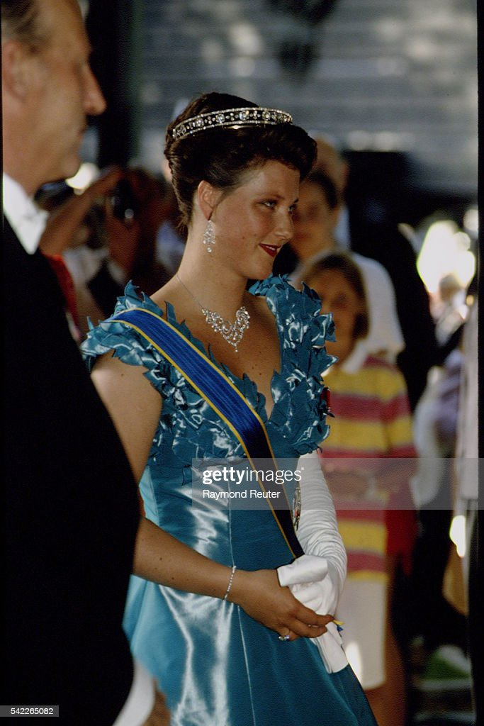 STATE VISIT OF THE SWEDISH ROYAL FAMILY TO OSLO : News Photo