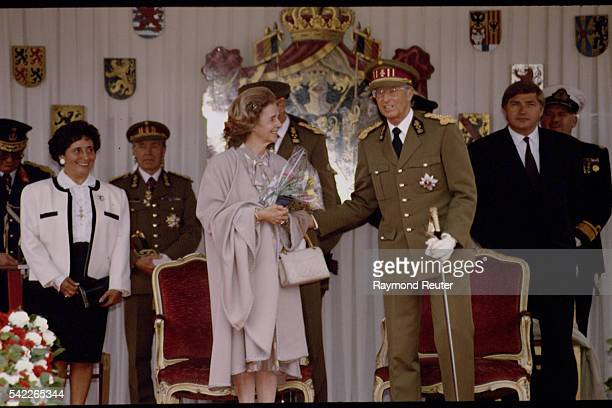 ROYAL PERSONALITIES AT THE FETE NATIONALE BELGE
